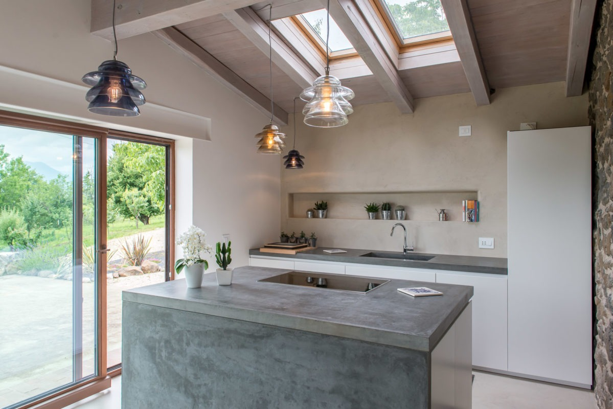 Foto di una cucina moderna