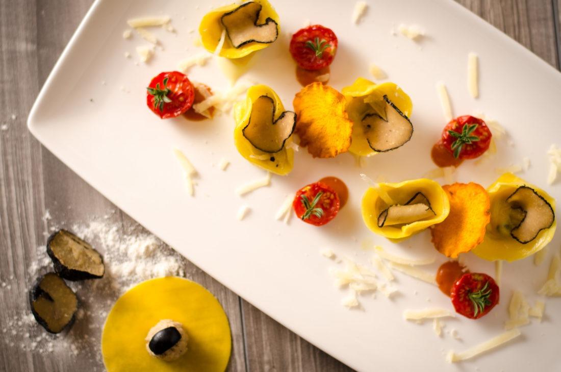 Fotografia food in ristorante