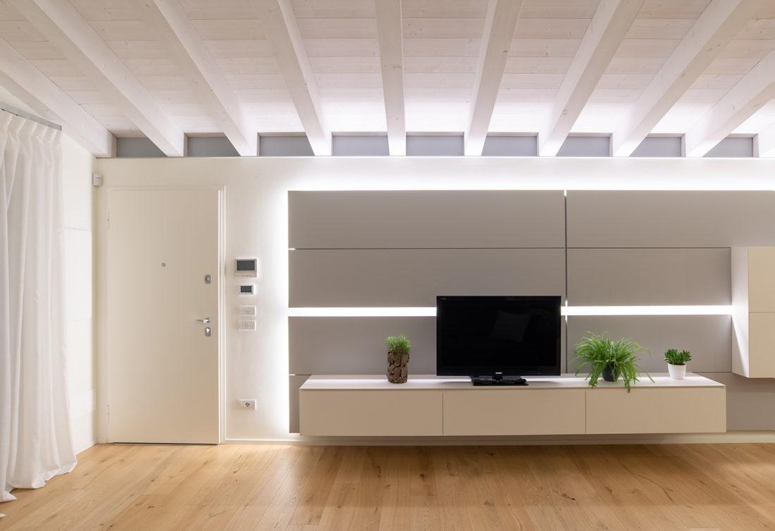 Fotografia salotto appartamento