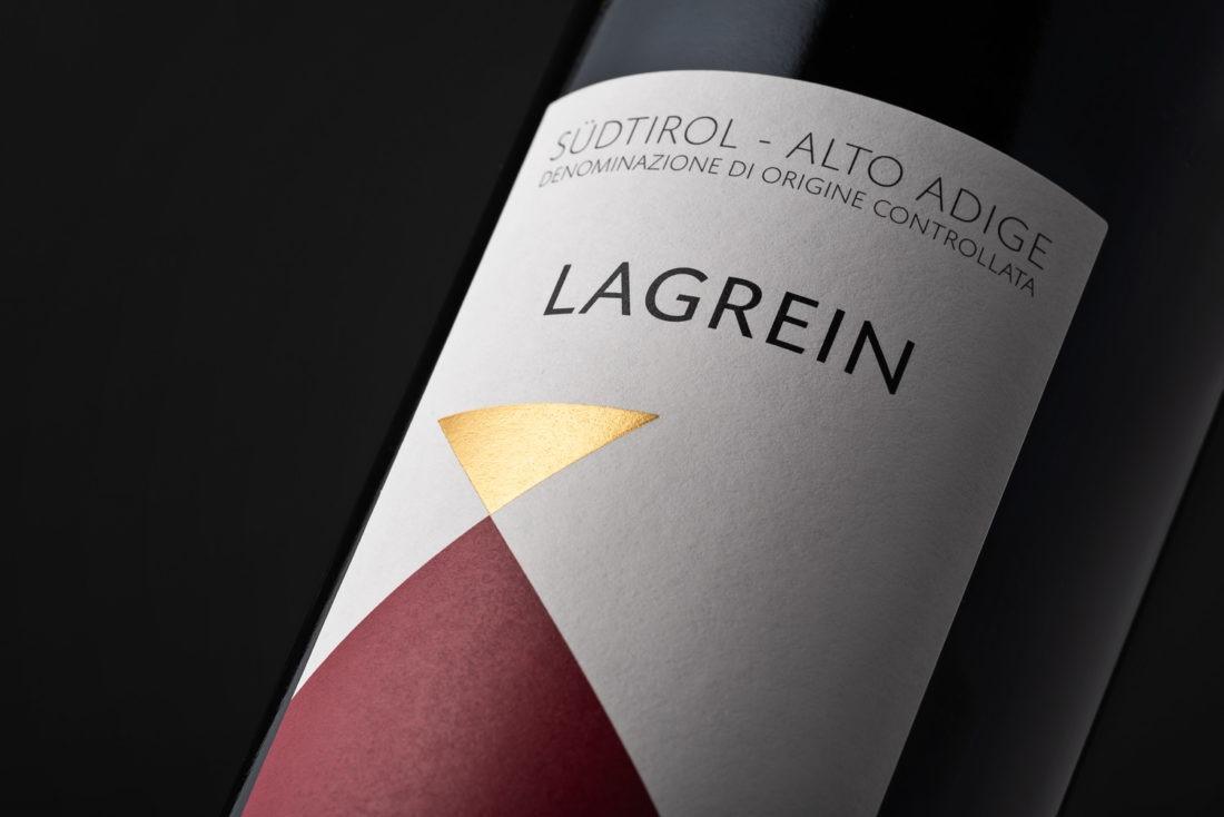Foto etichetta vino Lagrein