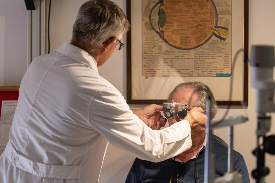 fotografia professionale ambulatorio oculistico