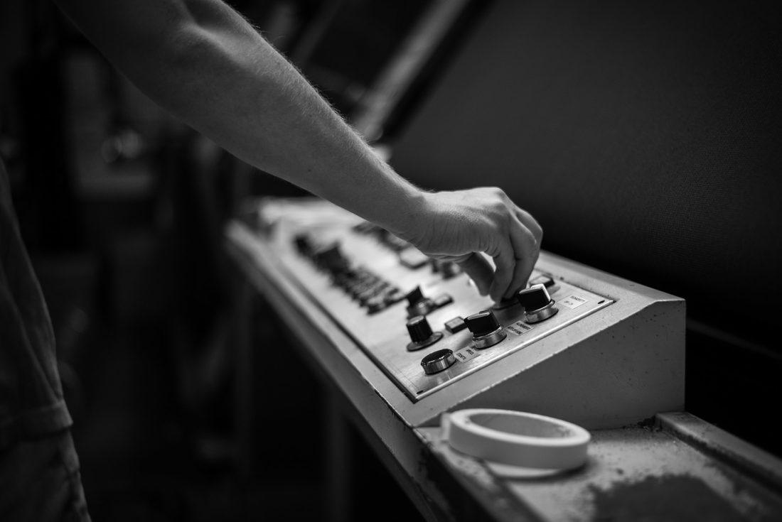 Fotografia industriale processo produttivo