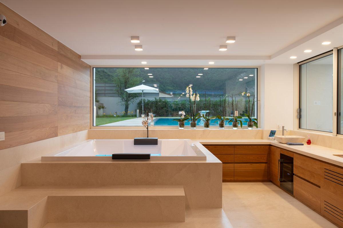 Foto interni idromassaggio spa