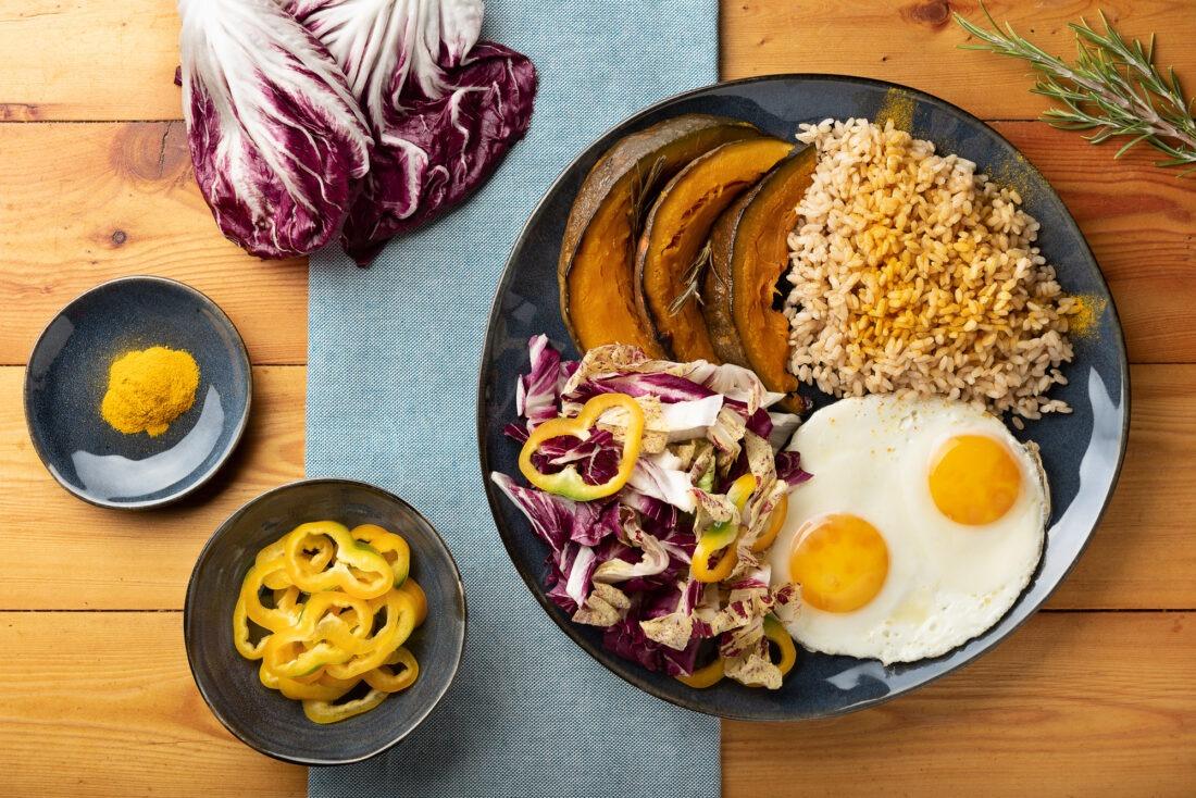 Personal branding shooting, parte di Food-photography, foto di un piatto smart per una rubrica di ricette
