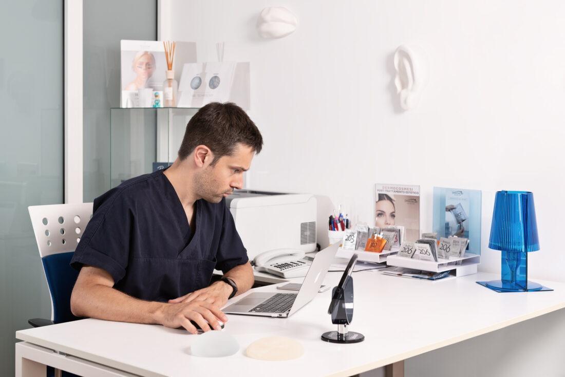 foto professionale studio medico